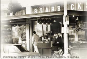 starbucks' first store